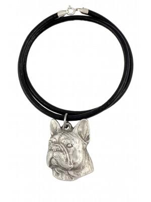 French Bulldog - necklace (strap) - 396