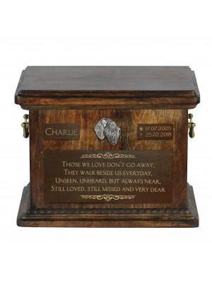 Afghan Hound - exclusive urn