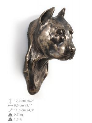 American Staffordshire Terrier - figurine (bronze) - 353 - 9861