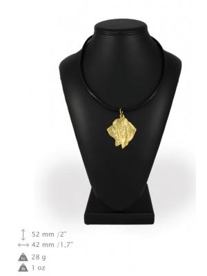 Basset Hound - necklace (gold plating) - 902 - 31201