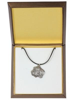 Basset Hound - necklace (silver plate) - 2953 - 31097