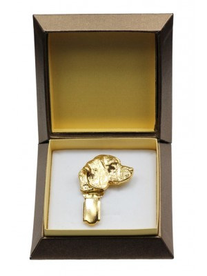 Beagle - clip (gold plating) - 2625 - 28586