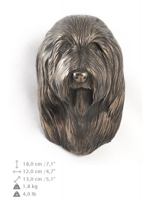 Bearded Collie - figurine (bronze) - 357 - 9864