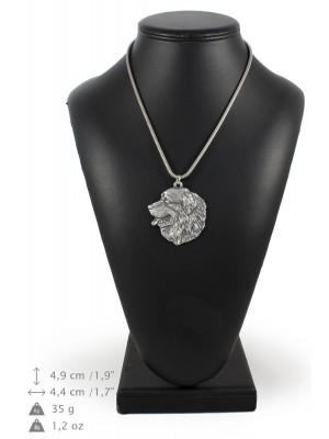 Bernese Mountain Dog - necklace (silver cord) - 3156 - 33021