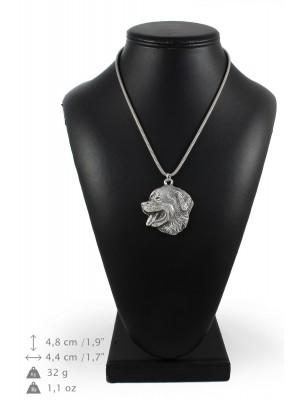 Bernese Mountain Dog - necklace (silver cord) - 3239 - 33371