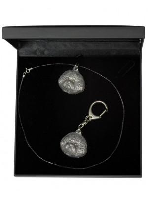 Bichon Frise - keyring (silver plate) - 1859 - 12765
