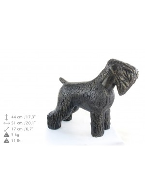 Black Russian Terrier - statue (resin) - 628 - 21604