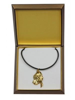 Bloodhound - necklace (gold plating) - 2502 - 27661