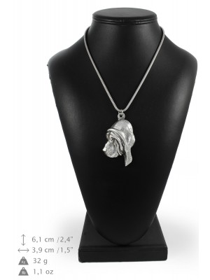 Bloodhound - necklace (silver chain) - 3326 - 34463