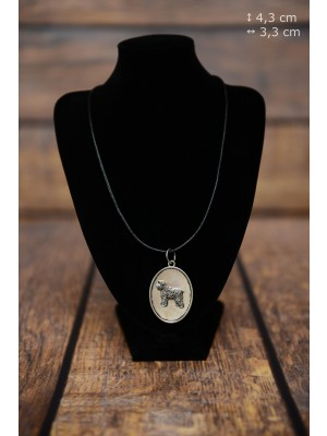 Bouvier des Flandres - necklace (silver plate) - 3433 - 34892