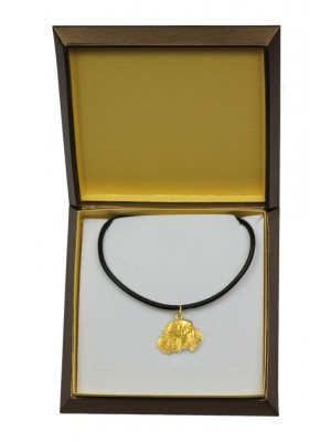 Boxer - necklace (gold plating) - 2482 - 27641