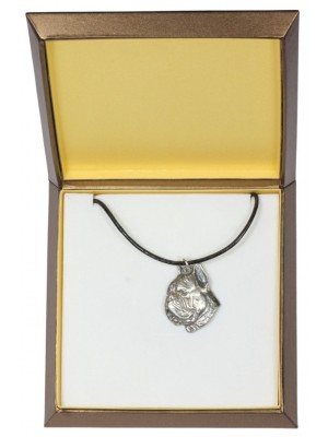 Boxer - necklace (silver plate) - 2966 - 31109