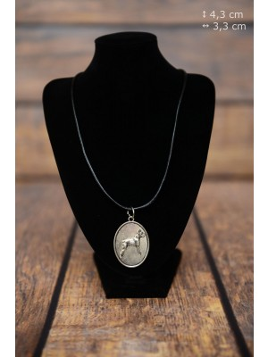 Boxer - necklace (silver plate) - 3425 - 34865