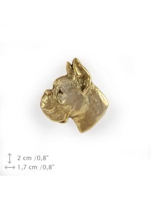 Boxer - pin (gold plating) - 1055 - 7744