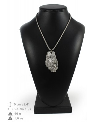 Briard - necklace (silver chain) - 3329 - 34469
