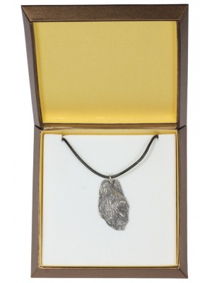 Briard - necklace (silver plate) - 2961 - 31104
