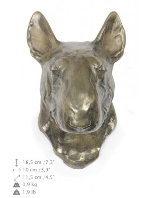Bull Terrier - figurine (bronze) - 381 - 22184