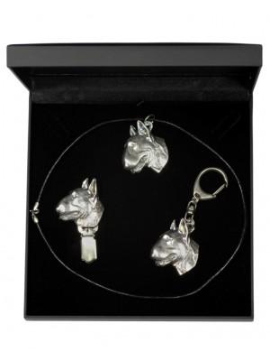 Bull Terrier - keyring (silver plate) - 1867 - 12939