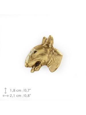 Bull Terrier - pin (gold) - 1565 - 7568