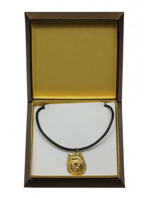 Cairn Terrier - necklace (gold plating) - 3066 - 31702
