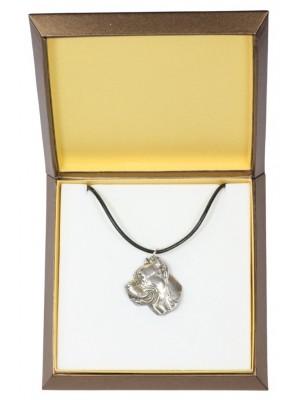 Cane Corso - necklace (silver plate) - 2899 - 31043