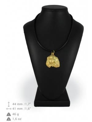 Cavalier King Charles Spaniel - necklace (gold plating) - 955 - 25440