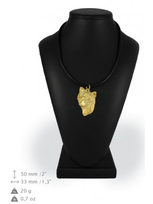 Chinese Crested - necklace (gold plating) - 933 - 25383