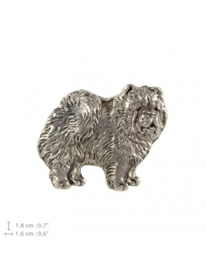 Chow Chow - pin (silver plate) - 2232 - 22319
