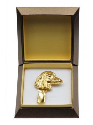Dachshund - clip (gold plating) - 2617 - 28578