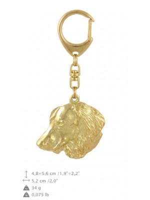 Dachshund - keyring (gold plating) - 877 - 30119