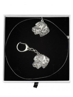 Dachshund - keyring (silver plate) - 1985 - 15586