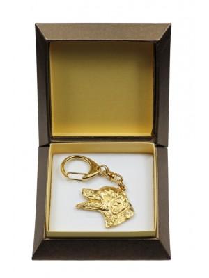 Dalmatian - keyring (gold plating) - 2846 - 30508