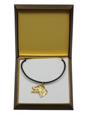 Dalmatian - necklace (gold plating) - 3025 - 31661