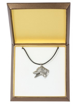 Dalmatian - necklace (silver plate) - 2906 - 31050