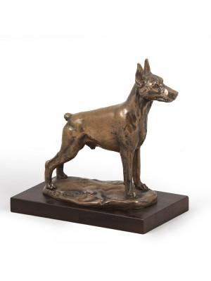 Doberman pincher - figurine (bronze) - 596 - 2694