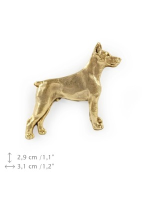 Doberman pincher - pin (gold) - 1500 - 7478