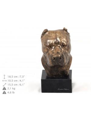 Dogo Argentino - figurine (bronze) - 209 - 9136