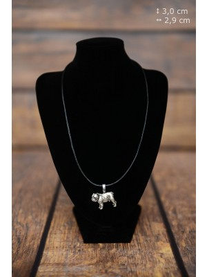 English Bulldog - necklace (strap) - 3833 - 37122