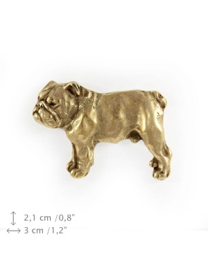English Bulldog - pin (gold plating) - 1050 - 7770
