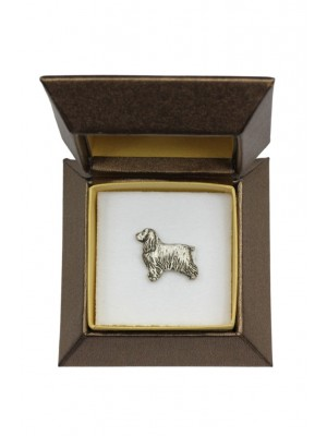 English Cocker Spaniel - pin (silver plate) - 2650 - 28932