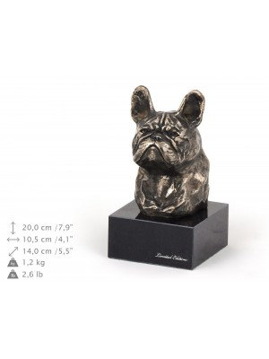 French Bulldog - figurine (bronze) - 218 - 9144