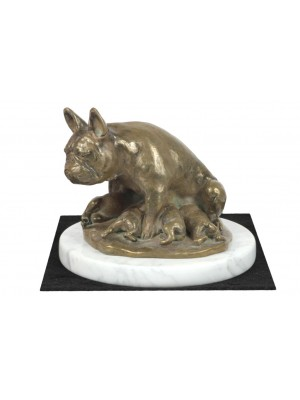 French Bulldog - figurine (bronze) - 4615 - 41492