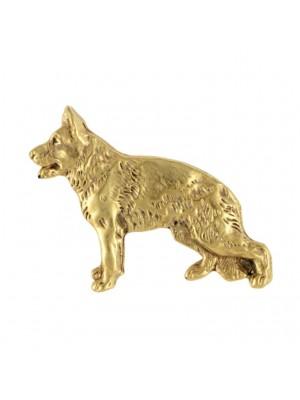 German Shepherd - pin (gold plating) - 2374 - 26138
