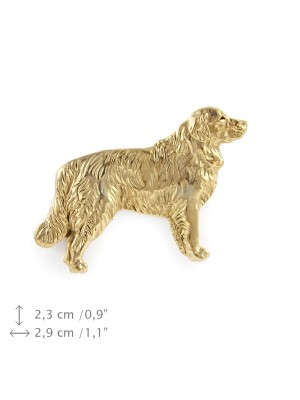 Golden Retriever - pin (gold plating) - 1069 - 7801