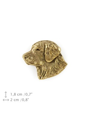 Golden Retriever - pin (gold plating) - 1084 - 7836