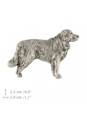 Golden Retriever - pin (silver plate) - 462 - 25958