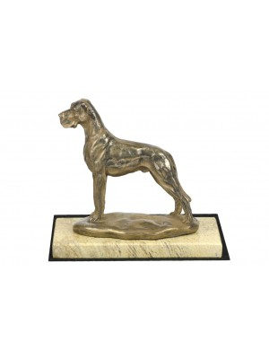 Great Dane - figurine (bronze) - 4666 - 41757