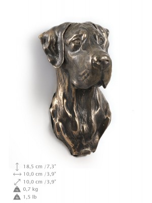 Great Dane - figurine (bronze) - 544 - 9898