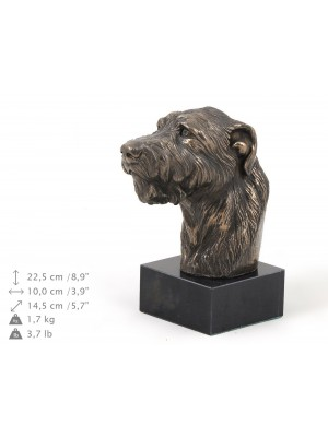 Irish Wolfhound - figurine (bronze) - 231 - 9152