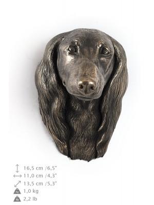 Jamnik Długowłosy - figurine (bronze) - 685 - 9930